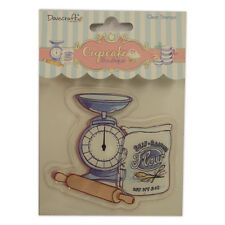 BAKING - Clear Stamp - Cupcake Boutique Collection from Dovecraft