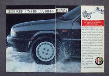 G743 - Advertising Pubblicità - 1988 - ALFA ROMEO 33 BOXER