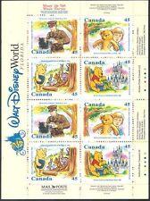Canadá 1996 disney/winnie la pooh/cartoons/books / bears/teddy 16v Gamma (s6163)