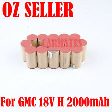 Battery Repacking Pack For GMC 18V HARDCORE PERFORMANCE 2.0Ah Ni-Cd Sub C cell