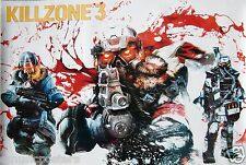 "KILLZONE 3 ""FIRST PERSON SHOOTER"" POSTER FROM ASIA - 2011 Guerrilla Video Games"