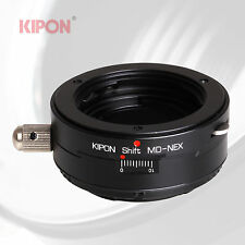New Kipon Shift Adapter for Minolta MD Mount Lens to Sony E mount NEX Camera A7
