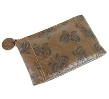 BOTTEGA VENETA Intrecciomirage Leather Butterfly Clutch Pouch Bag, 301498 8402
