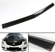 CARBON FIBER FRONT BUMPER CENTER LIP SPOILER FOR 2013-14 CADILLAC CTS-V 2D COUPE