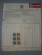 FATTURA ditta Varengo Milano anno 1965 con 6 bolli imposta entrata