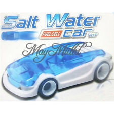 Kid Creative Design Salt Water Magic Power Toy Car DIY Assembled Novelty Child I
