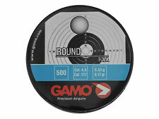 GAMO ROUND BALL BOLA 4.5 MM .177 500 PCS Lead BBs BB's - Pellet Alternative