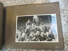 Huddersfield rfl rugby football league remarquable album de 1953 photographies