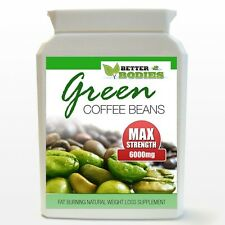 30 GREEN COFFEE BEAN  MAX STRENGTH 6000MG WEIGHT LOSS MONTH SUPPLY nl
