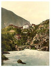 Stalden General View Valais Alps Of A4 Photo Print
