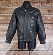 Timberland Leather Men Jacket Coat Size S, Genuine