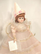 Porcelain Pink Fairy Ceramic Female Girl Teen Kids Toy Toys Play School Vintage