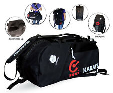 WKF Approved Karate Sport Duffel Bag & Zaino Zainetto Zaino CARRY KIT PALESTRA