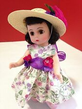 """Easter Parade Dress, Hat & Undies by JL Productions for 8"""" Madame Alexander doll"""