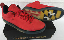 Under Armour UA Mobtown 1231374-600 Red SB Skateboard Skate Shoes Men's 8.5 Surf