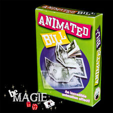 Billet Animé - Animated Bill - Tour de magie