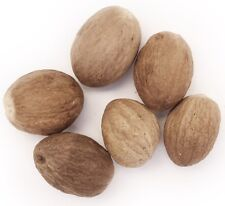 Nutmeg Whole - Rich in Fragrance Natural and Organic  100g  -  FREE SHIPPING