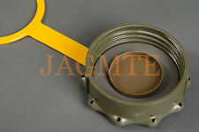 Cap Assembly -Olive Drab w/Yellow Strap for Scepter MFC Military Fuel Gas Cans