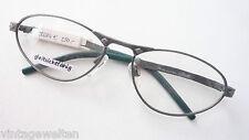 Modello stravaganti occhiali montatura in metallo Silhouette in esclusiva Frame Gr: M verde antico