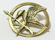 The Hunger Games Mockingjay Katniss Everdeen Pin Badge Brooch Bird Tribute Token