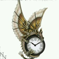 Nemesis Now Clockwork Dragon Wall Clock Steampunk Gothic Fantasy Anne Stokes
