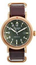 NWT NEW AUTHENTIC FILSON The Scout Watch Brown Leather Band Shinola IN BOX