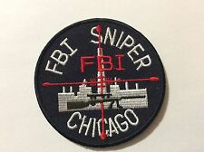 "FBI SNIPER CHICAGO   3 "" PATCH  NEW !!"