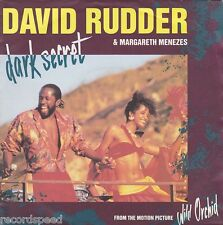 "★★ 7"" - DAVID RUDDER & MARGARETH MENEZES - Dark Secret - Unplayed!!"