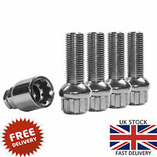 45mm VAG VW GOLF SEAT AUDI SKODA OEM m14 x 1.5 RADIUS ALLOY WHEEL LOCKING BOLTS