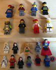 5ZB lego and Custom mini figures Marvel Super heroes Dr Strange Hawkman Hulk