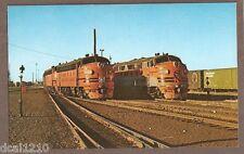 VINTAGE RAILROAD POSTCARD UNUSED WESTERN PACIFIC 920-A LOCOMOTIVE 73