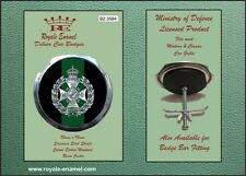 Royale Military Car Grill Badge - THE RIFLES BRIGADE - B2.3584