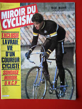 1983 miroir du cyclisme n°330 MADIOT SARONNI POST BESSEGES CYCLO CROSS SERCU