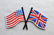 USA,United Kingdom,Flaggen,Patch,Flag,Aufbügler,Aufnäher,United States,England