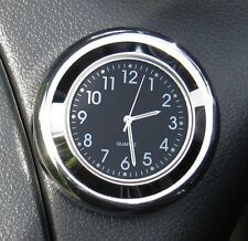 "NEW! British made Time-Rite ""Forty"" Classic Car Dashboard Clock - Black Clock"