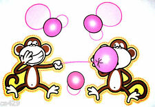 "20.5"" BOBBY JACK MONKEY JUMBO SET CHARACTER WALL SAFE FABRIC DECAL CUT OUT"