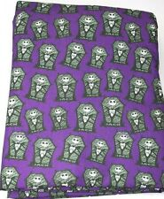 Nightmare Before Christmas Jack BARA tessuto in policotone Fat Quarter