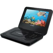 """NEW Coby Portable Laptop DVD Player 7"""" Screen TV Video Monitor TF-DVD7011 Black"""