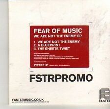 (CV175) Fear Of Music, We Are Not The Enemy - 2007 DJ CD