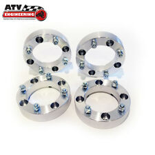 "(4) 4"" ATV Wheel Spacers Kawasaki Mule Prairie Brute Force Bayou WS 4x137 2.0"