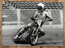 Original 1980s speedway photo dennis sigalos vikings, sorcières, loups usa