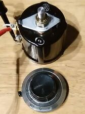 1 Pair Beckman Helipot 10 turn 1k 3% Precision Potentiometer with Vintage Dial