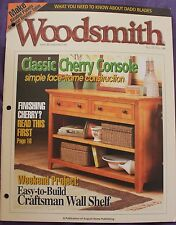Woodsmith Magazine Vol 25 No 146 April 2003 Console Woodworking