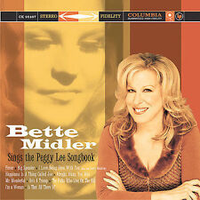 CD: Peggy Lee Songbook by Bette Midler (SEALED / all the hits, FEVER, etc!