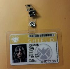 "Agents Of Shield ID Badge- Daisy  Johnson ""Quake""   cosplay prop costume"