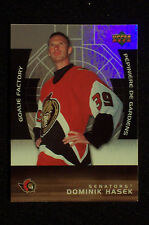 Dominik Hasek 2005/06 McDonald's UD Goalie Factory #GF1... The Hi BV $8