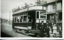 Merthyr Electric Tramways Tramcar Driver & Conductor South Wales photograph