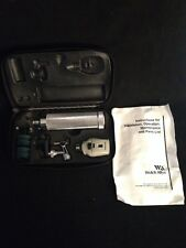 WELCH ALLYN Otoscope & Opthalmoscope Set In Case 6515-00-550-7199 2.5V 700