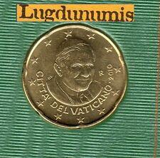 Vatican 2010 - 20 Centimes D'Euro - 94 000 exemplaires Provenant du BU RARE