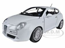 ALFA ROMEO MITO WHITE 1/24 DIECAST MODEL CAR BY MOTORMAX 73371